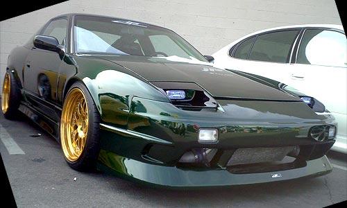 Nissan 180SX 200SX JP-Style Front Bumper Auto Extreme LTD