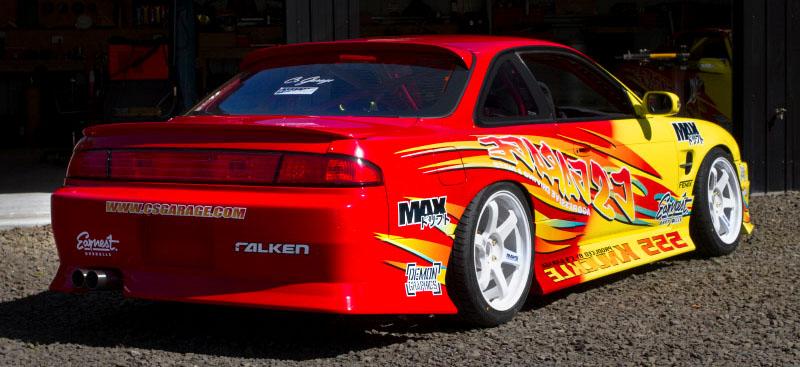 Nissan 200SX S14 Dmax Rear Bumper Auto Extreme Ltd