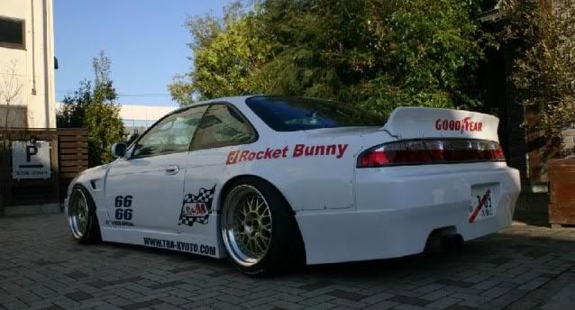 Nissan 200SX S14 Rocket Bunny Style Rear Bumper Auto Extreme LTD