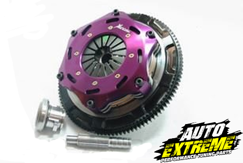 Xtreme Performance Nissan 180SX S13 / 200SX S14/A 184mm Rigid Ceramic Twin Plate Clutch Kit Incl Flywheel KNI18521-2EAuto Extreme LTD