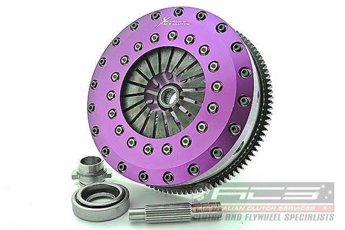 Xtreme Performance Nissan 180SX S13 / 200SX S14/A 230mm Rigid Ceramic Twin Plate Clutch Kit Incl Flywheel KNI23531-2E Auto Extreme LTD