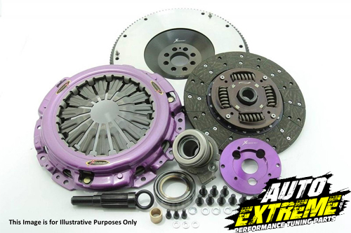 Xtreme Clutch Nissan 350Z 230mm Organic Twin Plate Clutch Kit Incl Flywheel KNI23543-2G Auto Extreme LTD